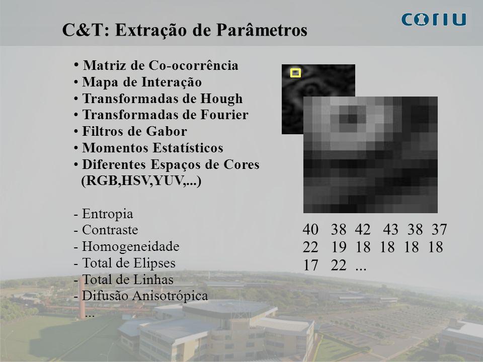 C&T: Extração de Parâmetros