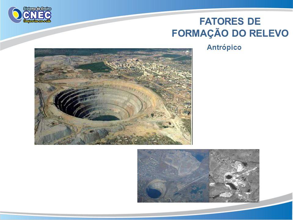 FATORES DE FORMAÇÃO DO RELEVO