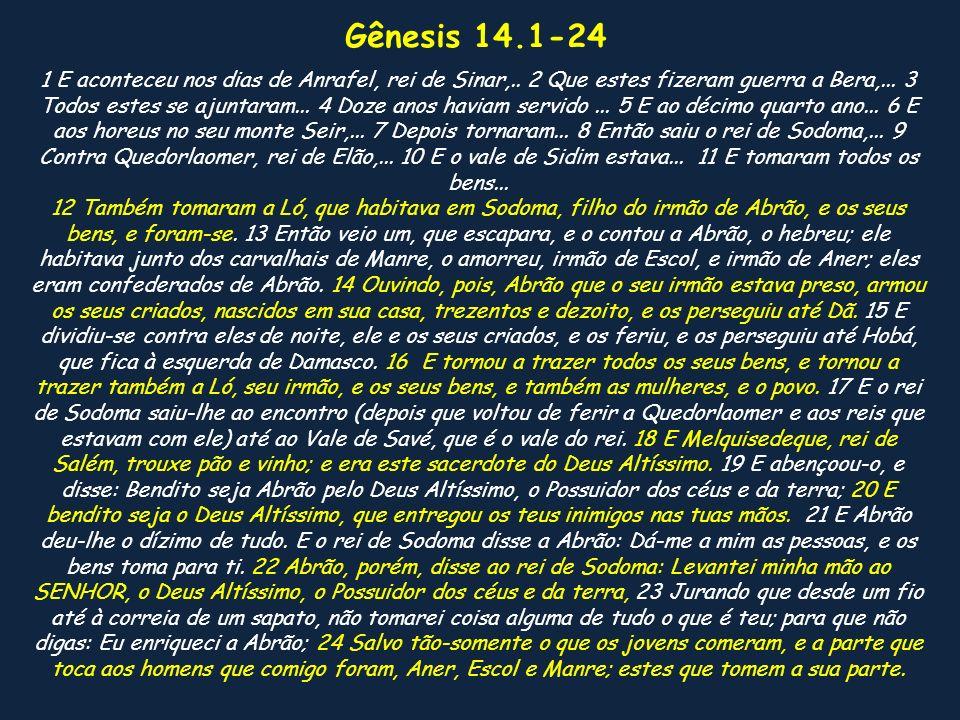 Gênesis 14.1-24