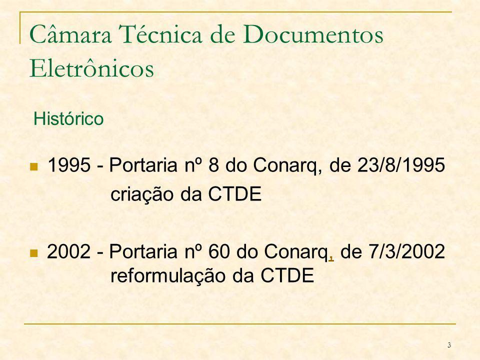 Câmara Técnica de Documentos Eletrônicos