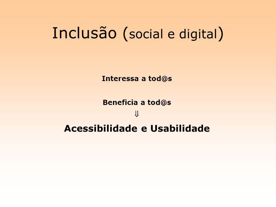 Inclusão (social e digital)