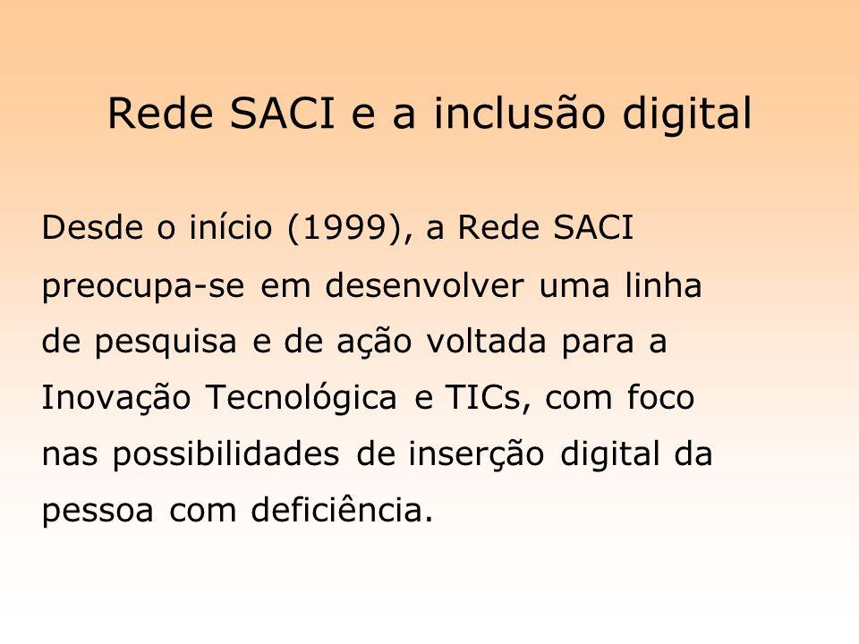 Rede SACI e a inclusão digital