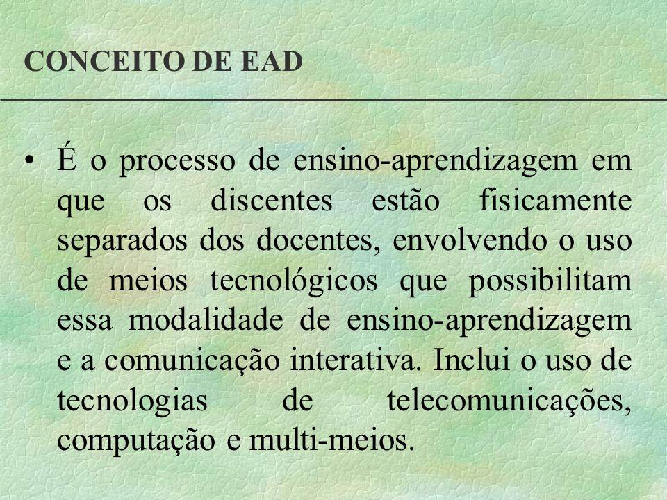 CONCEITO DE EAD