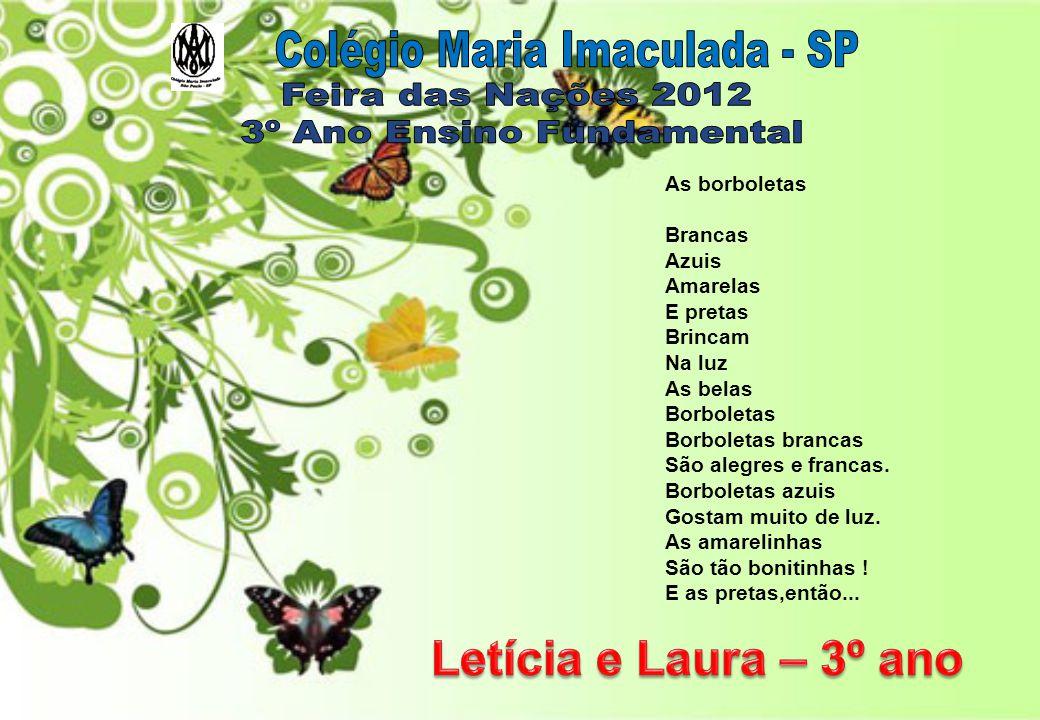 Colégio Maria Imaculada - SP Feira das Nações 2012