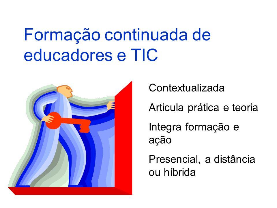 Formação continuada de educadores e TIC