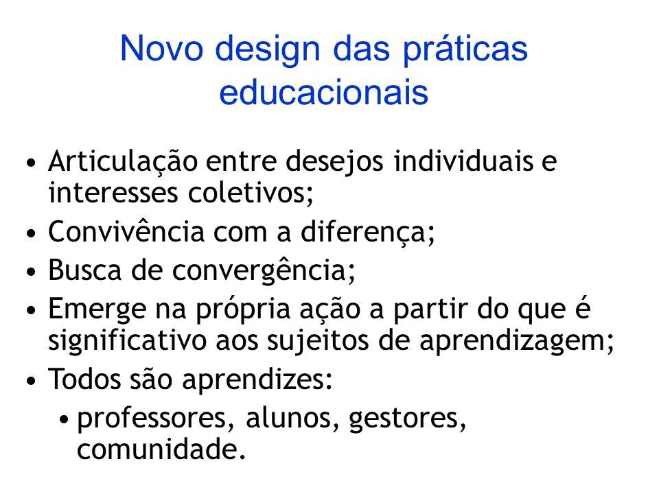 Novo design das práticas educacionais
