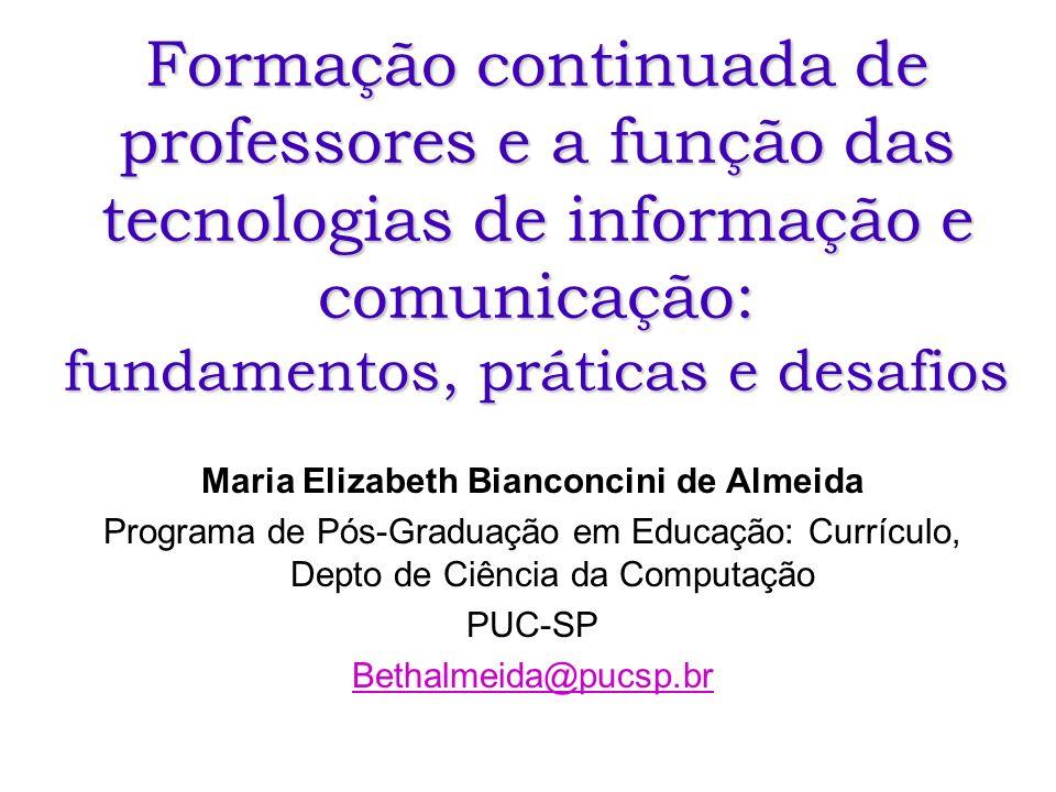 Maria Elizabeth Bianconcini de Almeida
