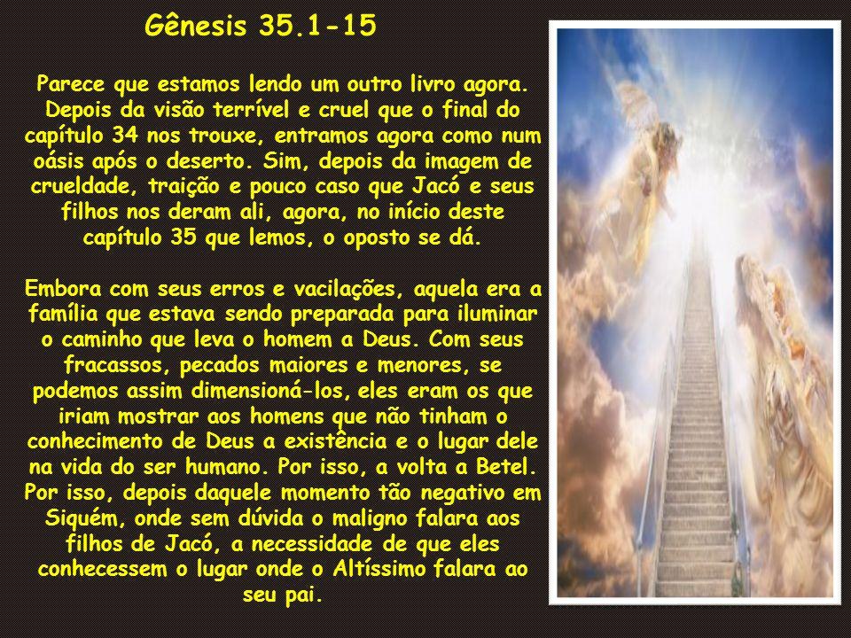 Gênesis 35.1-15