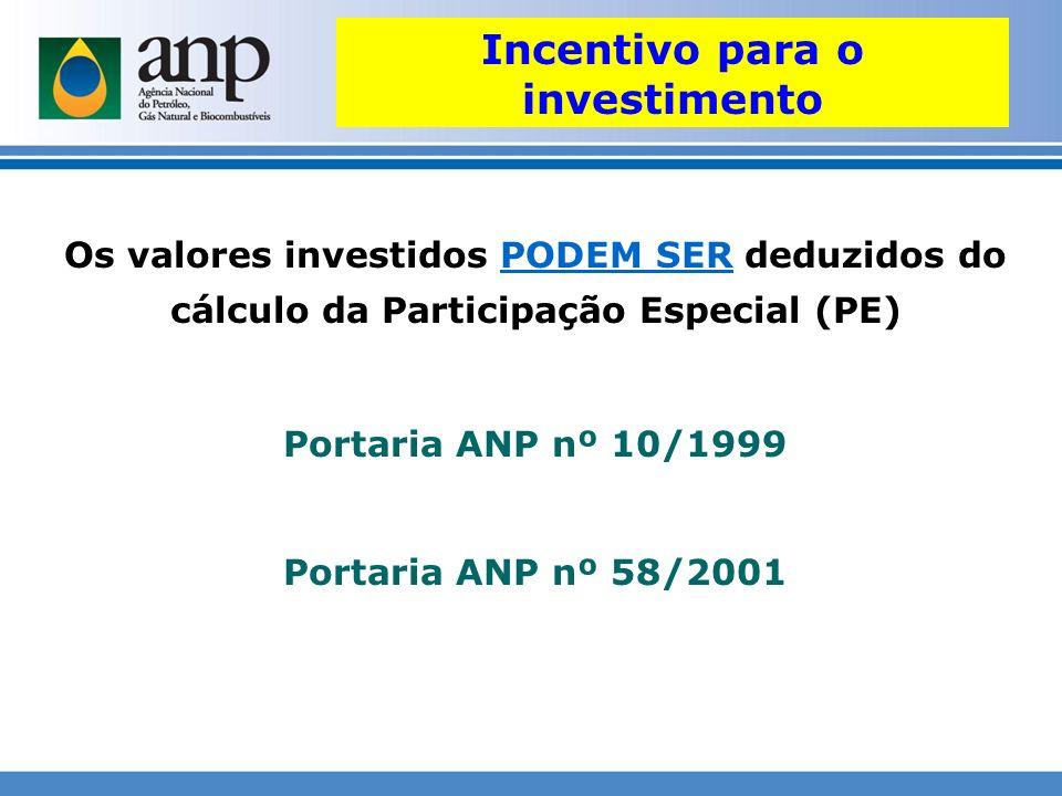 Incentivo para o investimento