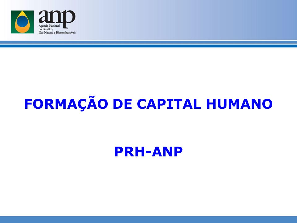 FORMAÇÃO DE CAPITAL HUMANO