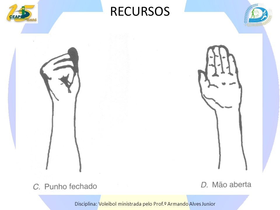 RECURSOS Disciplina: Voleibol ministrada pelo Prof.º Armando Alves Junior