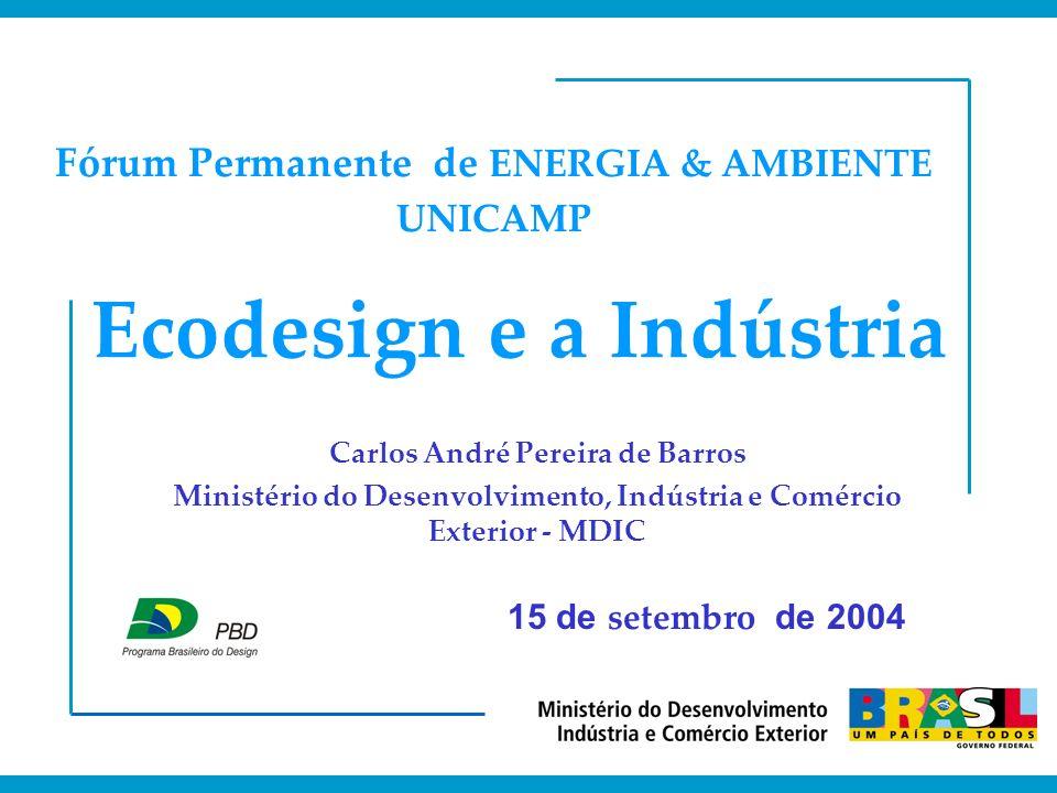 Ecodesign e a Indústria