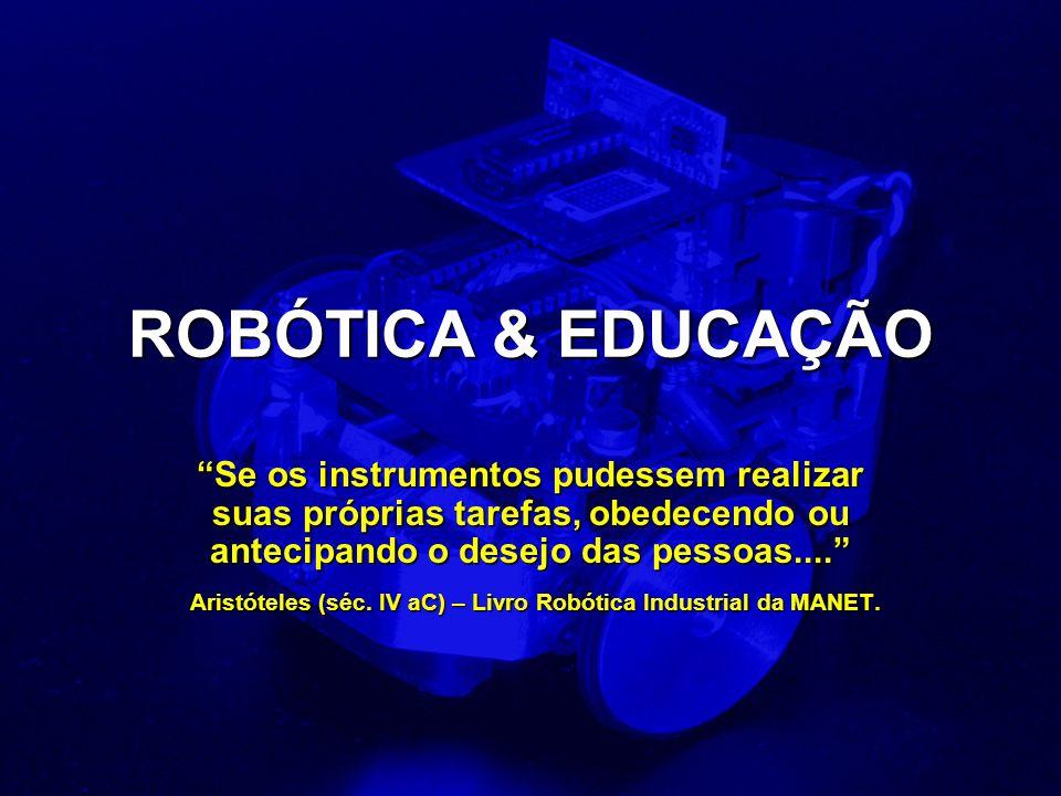 Aristóteles (séc. IV aC) – Livro Robótica Industrial da MANET.