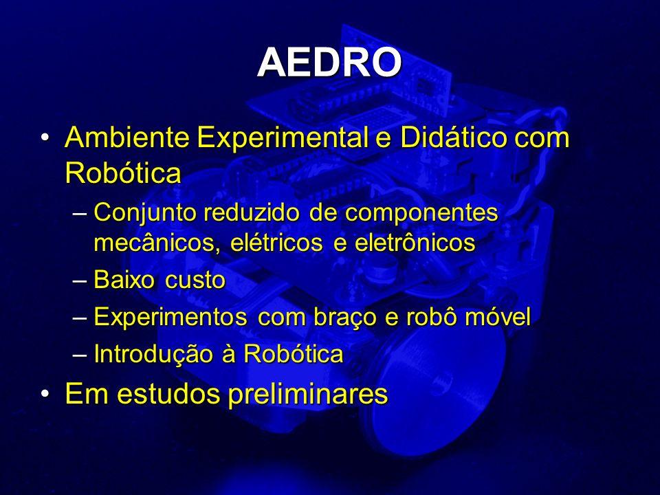 AEDRO Ambiente Experimental e Didático com Robótica