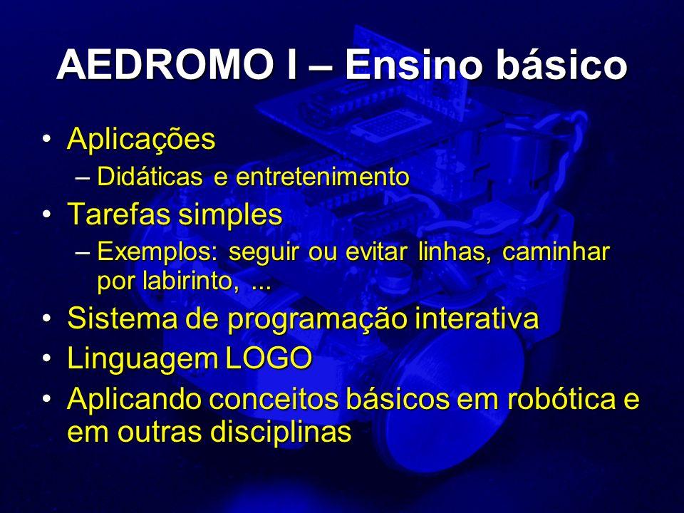AEDROMO I – Ensino básico