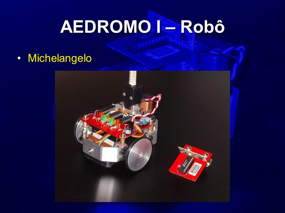 AEDROMO I – Robô Michelangelo