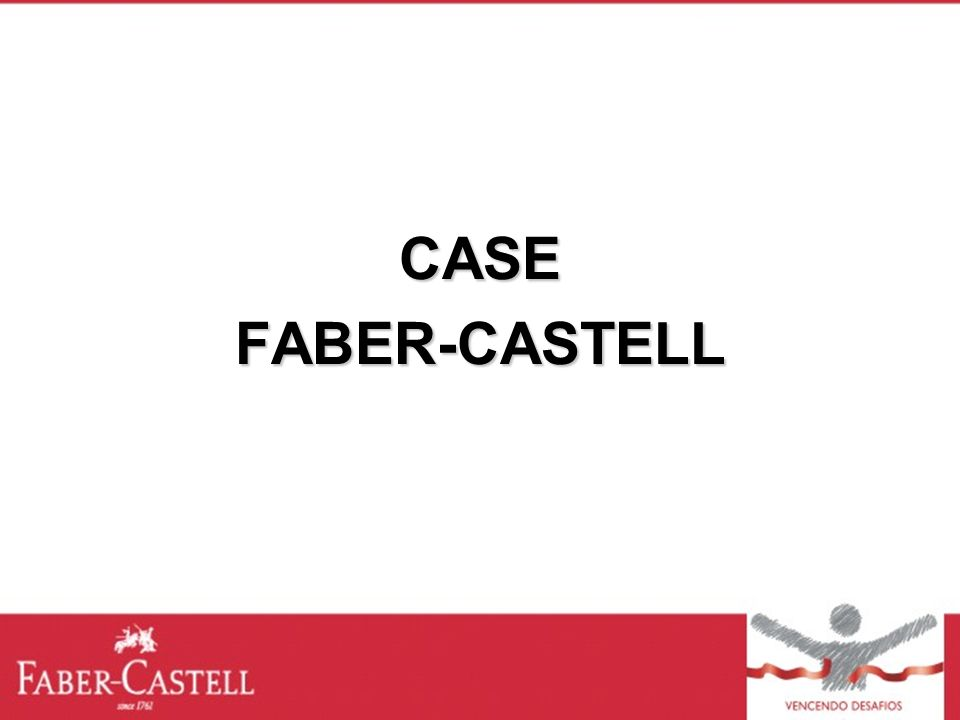 CASE FABER-CASTELL