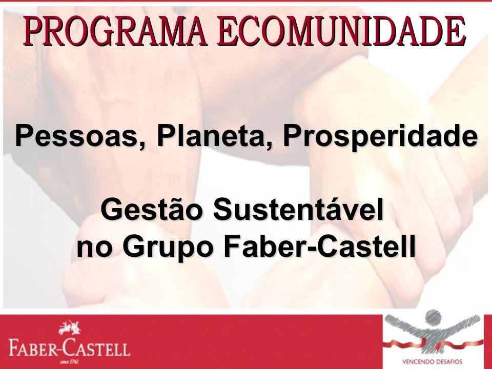Pessoas, Planeta, Prosperidade no Grupo Faber-Castell