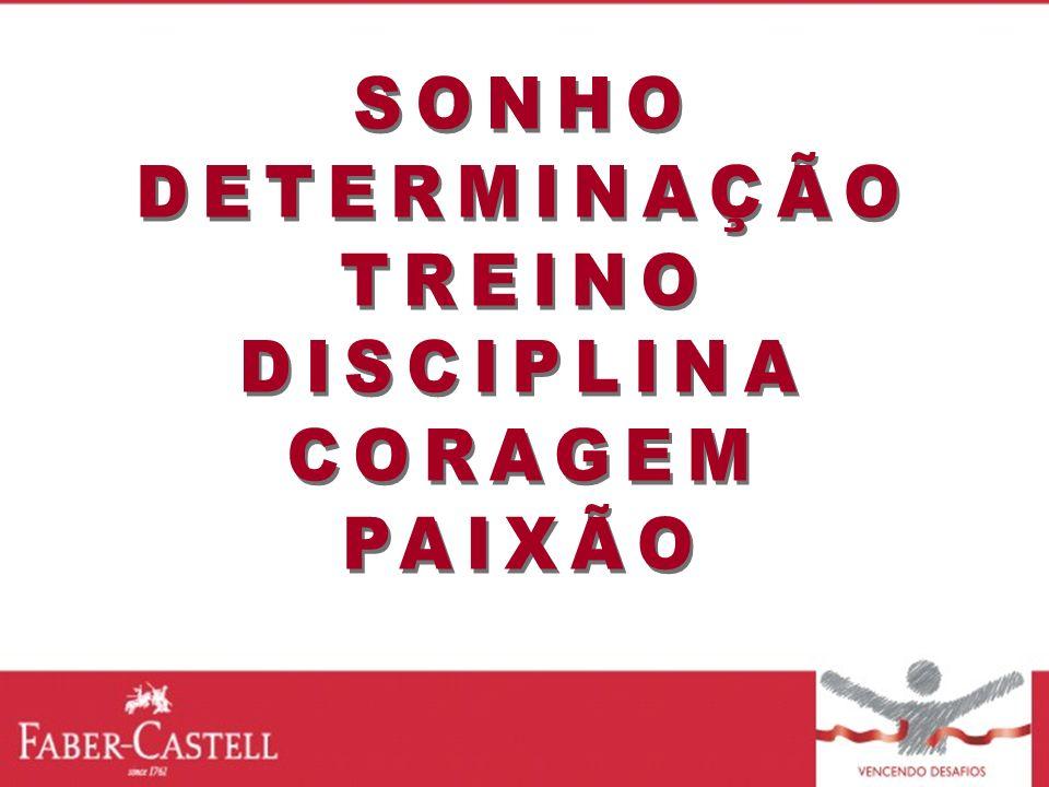 SONHO DETERMINAÇÃO TREINO DISCIPLINA CORAGEM PAIXÃO