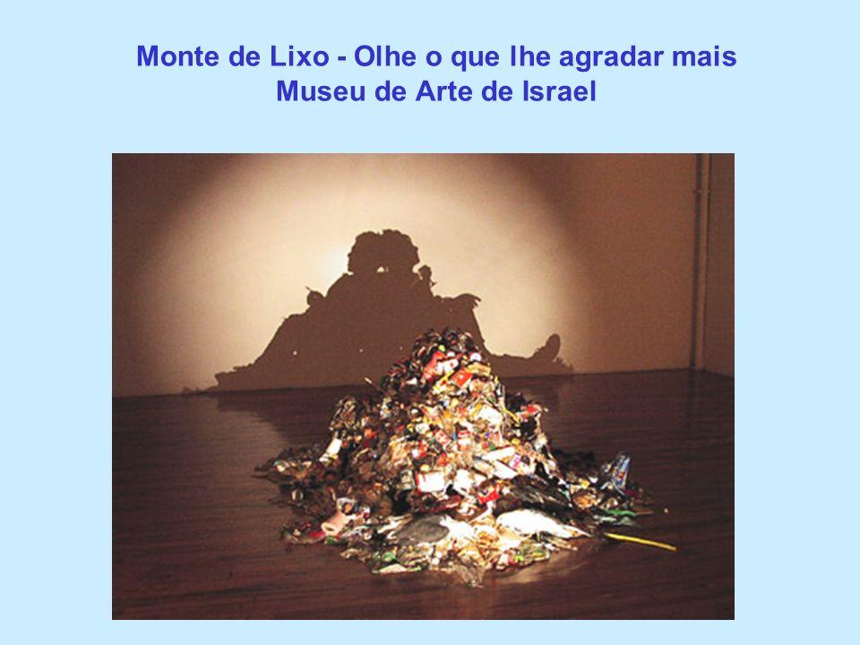 Monte de Lixo - Olhe o que lhe agradar mais Museu de Arte de Israel