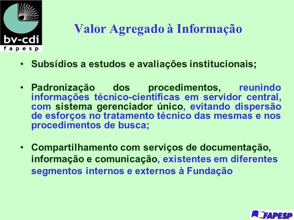 Valor Agregado à Informação