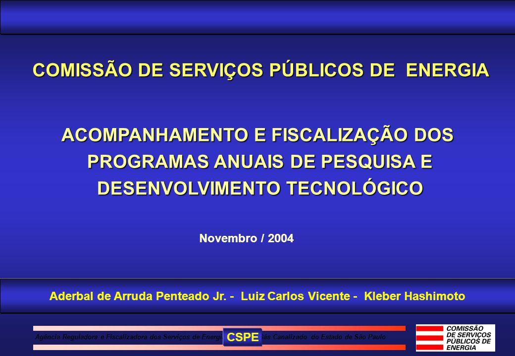 COMISSÃO DE SERVIÇOS PÚBLICOS DE ENERGIA