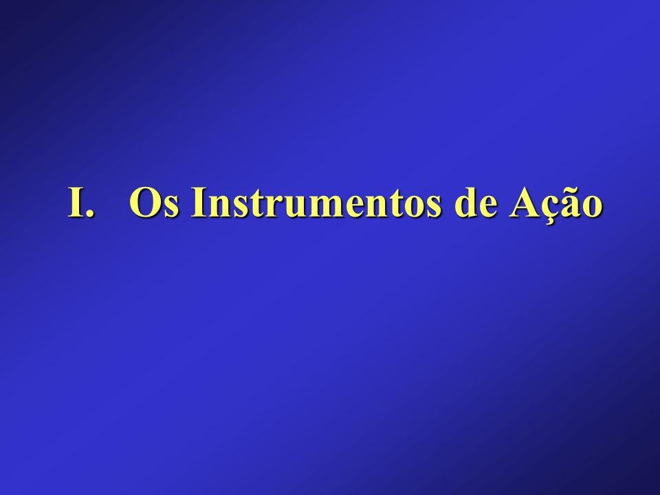 I. Os Instrumentos de Ação
