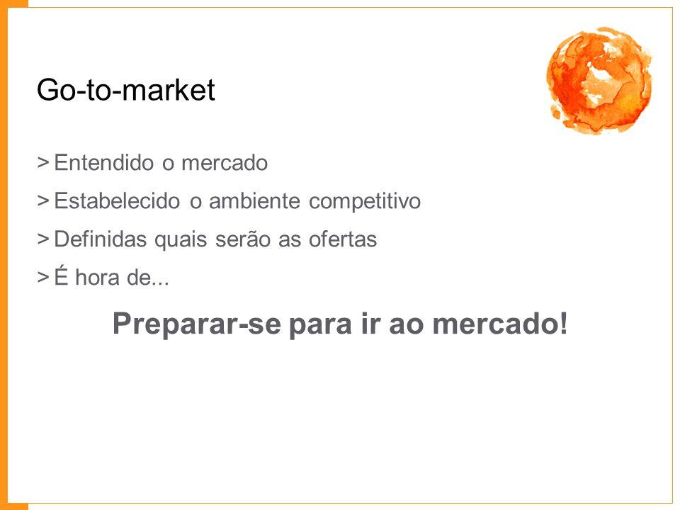 Preparar-se para ir ao mercado!
