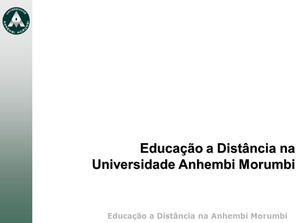 Educação a Distância na Universidade Anhembi Morumbi
