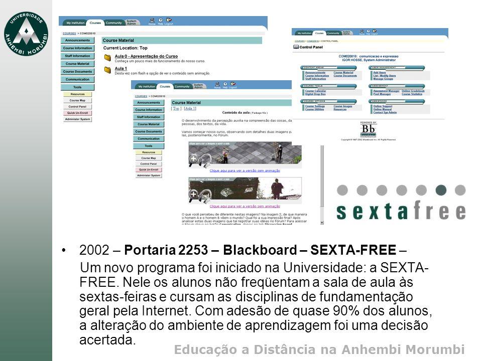 2002 – Portaria 2253 – Blackboard – SEXTA-FREE –