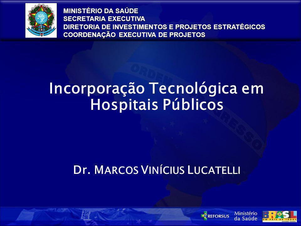 Incorporação Tecnológica em Hospitais Públicos
