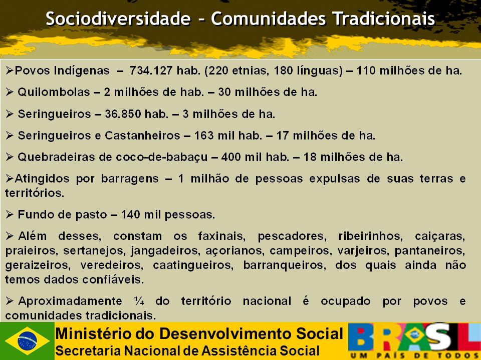 Sociodiversidade – Comunidades Tradicionais