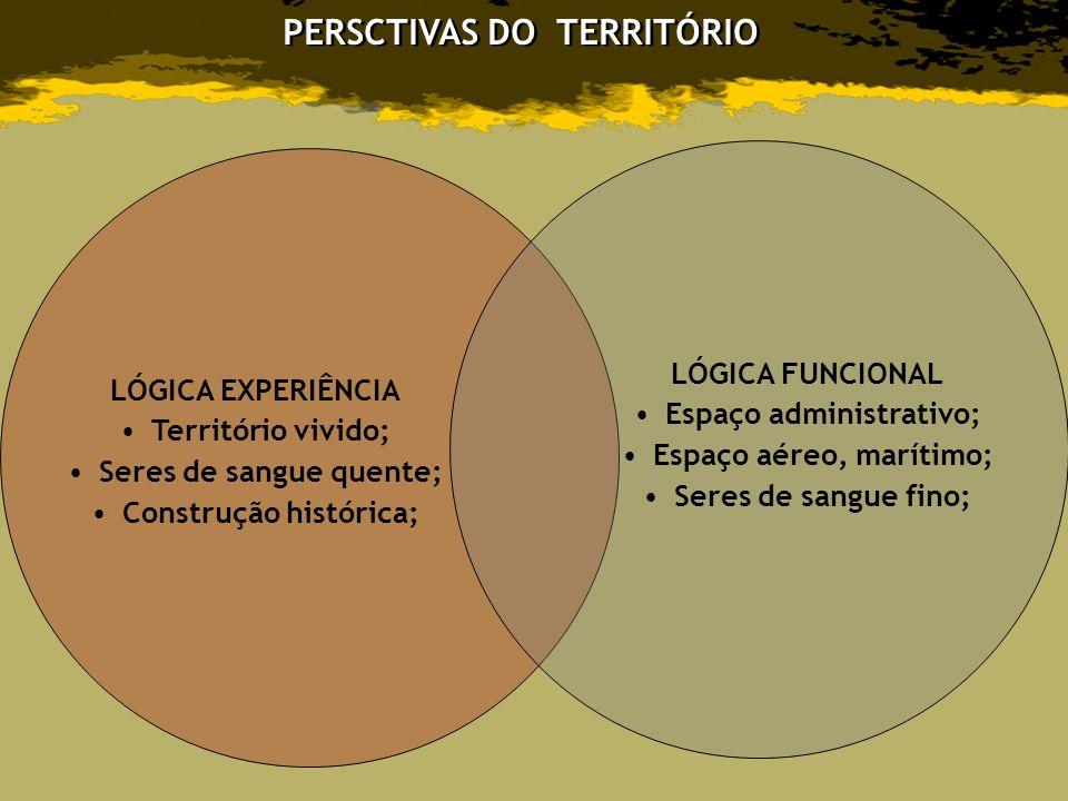 PERSCTIVAS DO TERRITÓRIO