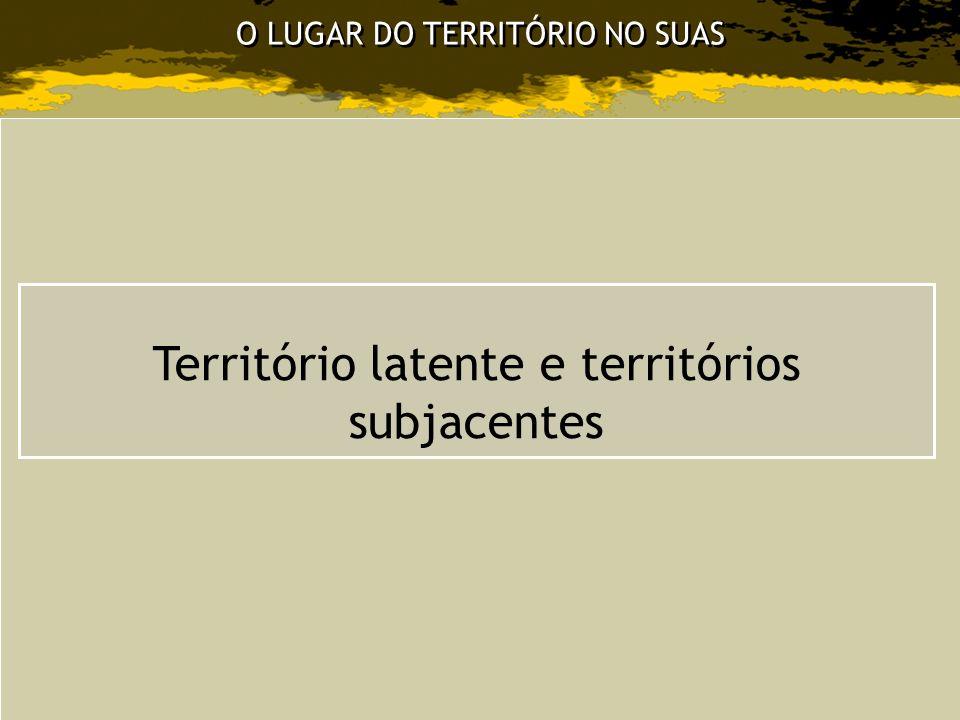 Território latente e territórios subjacentes