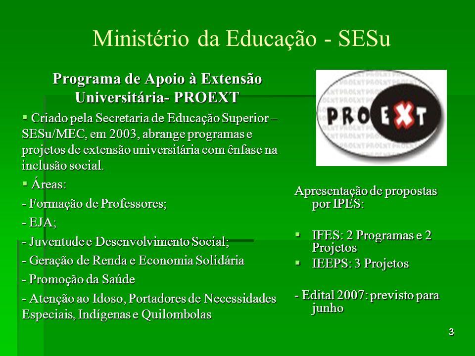 Ministério da Educação - SESu