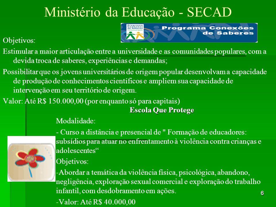 Ministério da Educação - SECAD