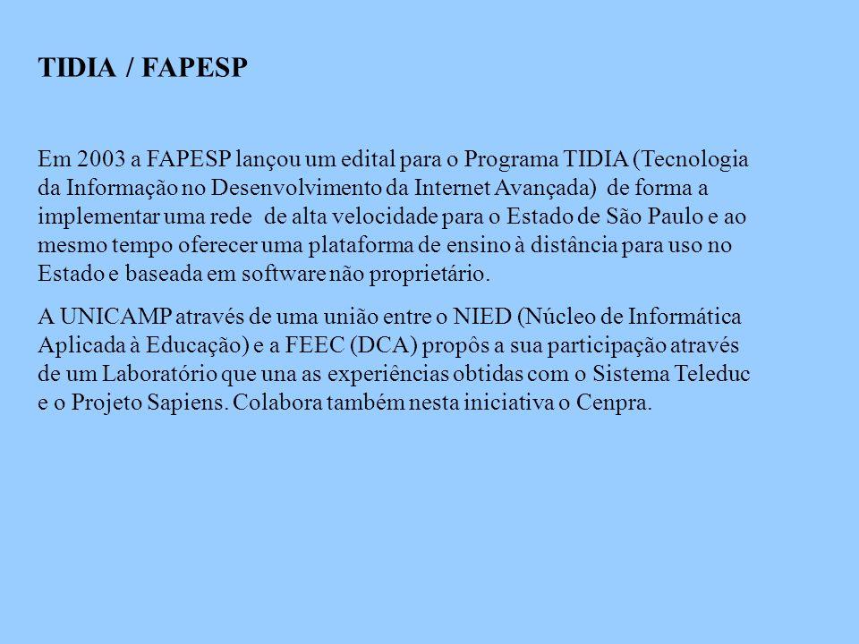 TIDIA / FAPESP