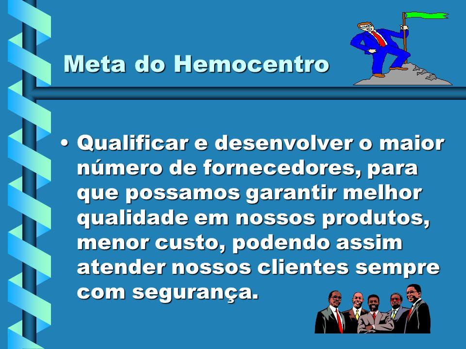 Meta do Hemocentro
