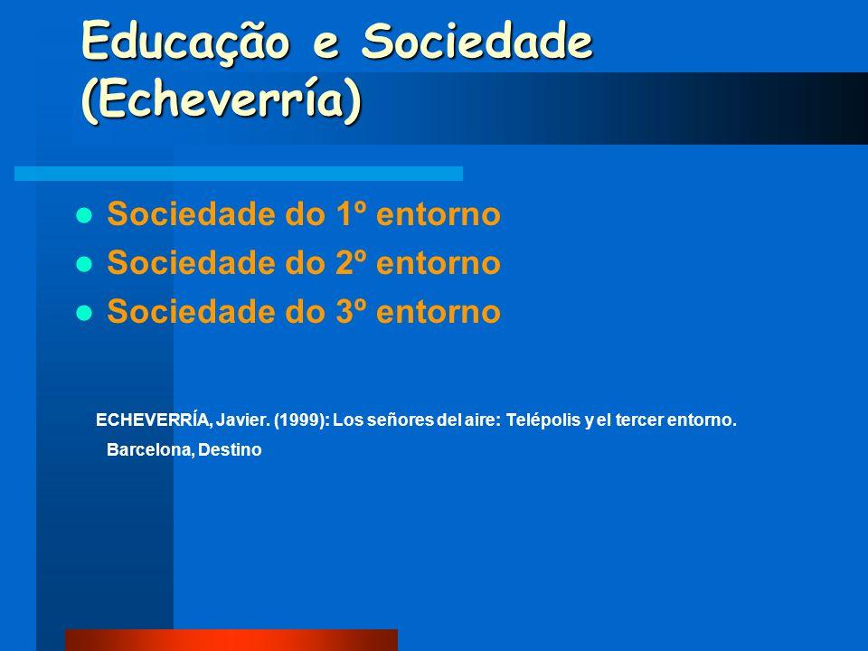 Educação e Sociedade (Echeverría)