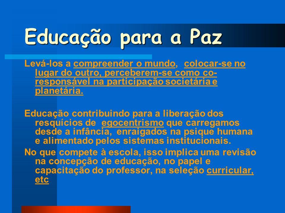 Educação para a Paz