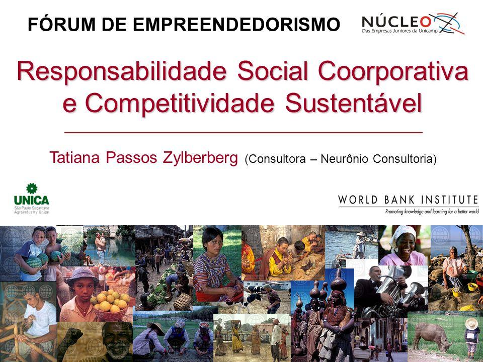 Responsabilidade Social Coorporativa e Competitividade Sustentável
