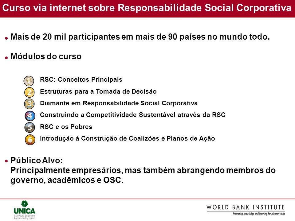 Curso via internet sobre Responsabilidade Social Corporativa