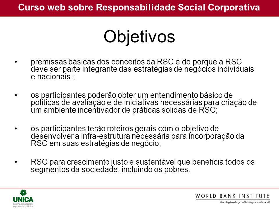 Curso web sobre Responsabilidade Social Corporativa