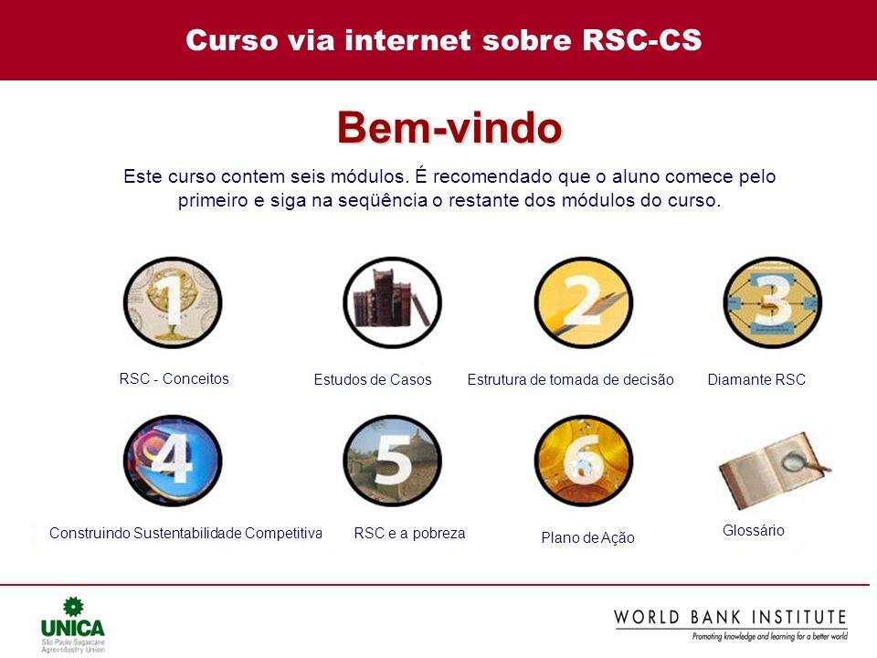 Curso via internet sobre RSC-CS
