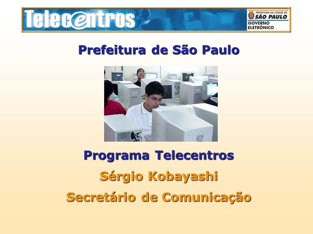 Prefeitura de São Paulo Secretário de Comunicação