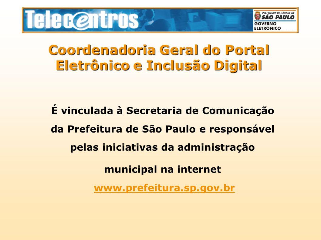 Coordenadoria Geral do Portal Eletrônico e Inclusão Digital