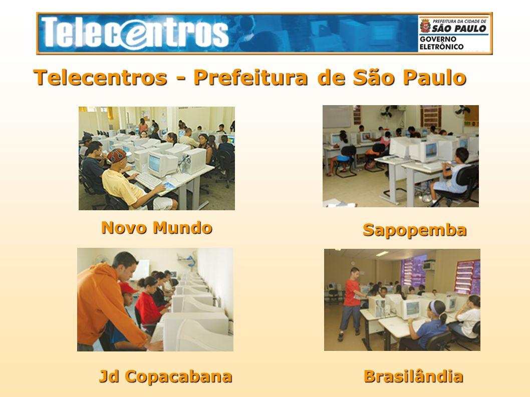 Telecentros - Prefeitura de São Paulo