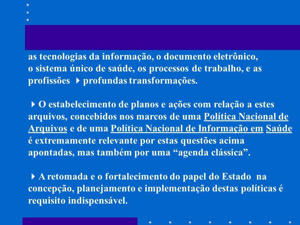 as tecnologias da informação, o documento eletrônico,