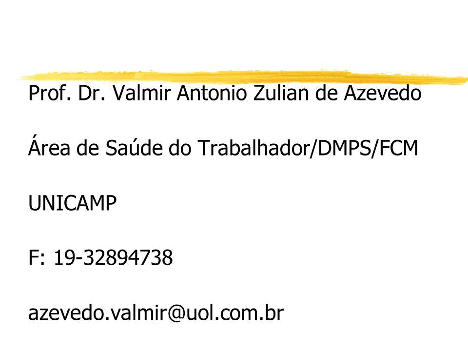 Prof. Dr. Valmir Antonio Zulian de Azevedo