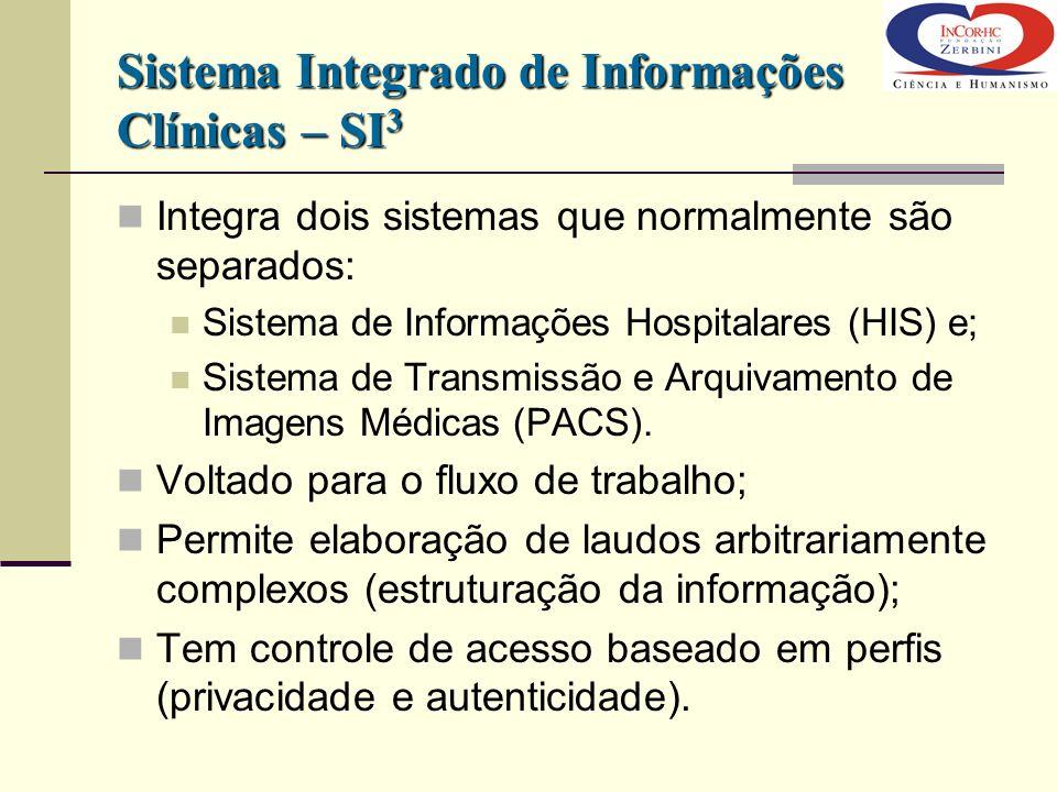 Sistema Integrado de Informações Clínicas – SI3
